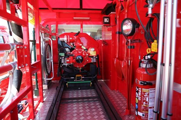 消防団の車