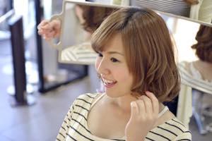 髪型を変える
