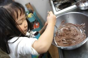 趣味はお菓子作り