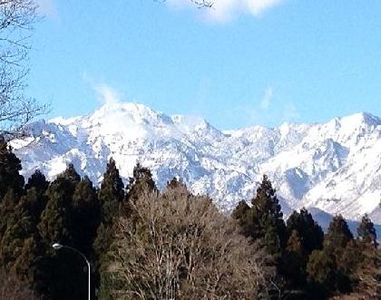 2014暮日光雪景色1