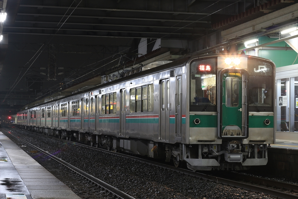 701系 F4-16編成ほか 2014 12/16