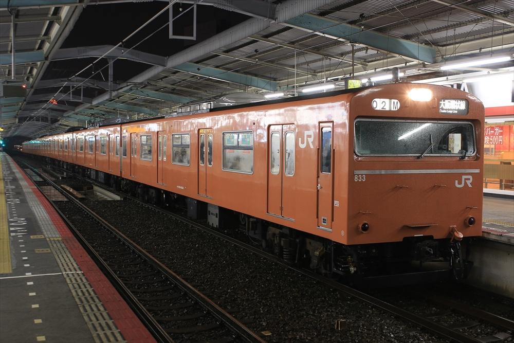 103系 SA2編成 2014 12/28
