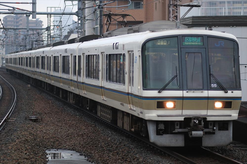 221系 NB806編成 2014 12/29