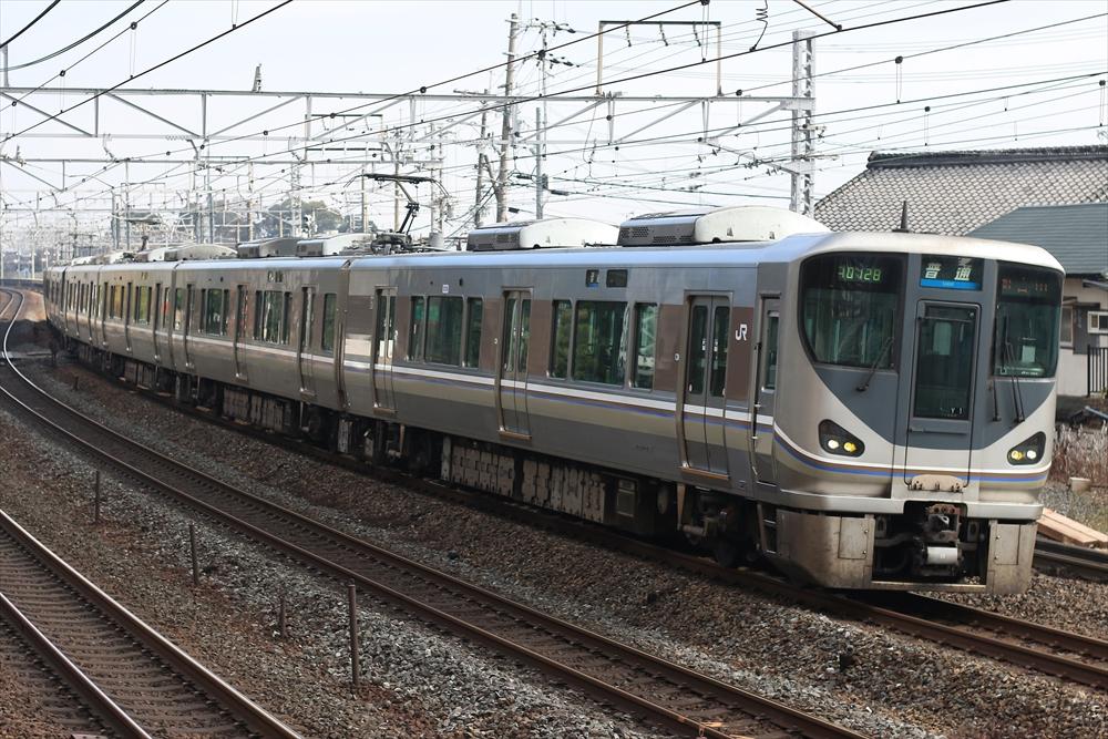 225系 Y1編成 2014 12/29