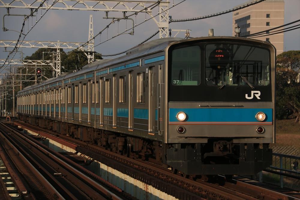 205系 HI603編成 2014 12/29