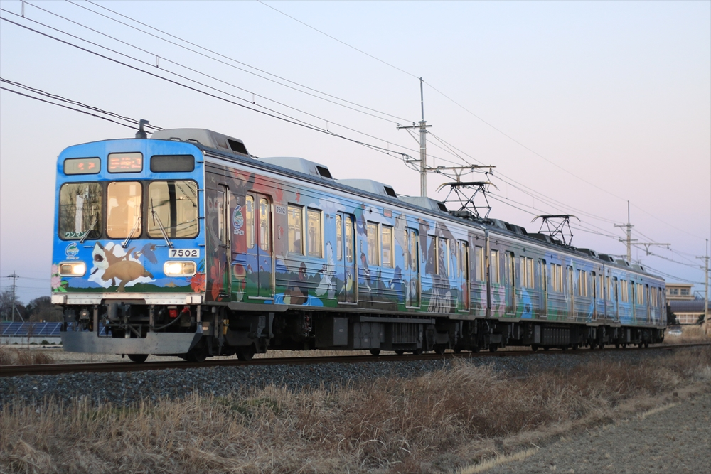 7502F 秩父ジオパークトレイン 2015 1/13