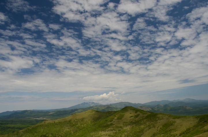 西別岳 山頂から