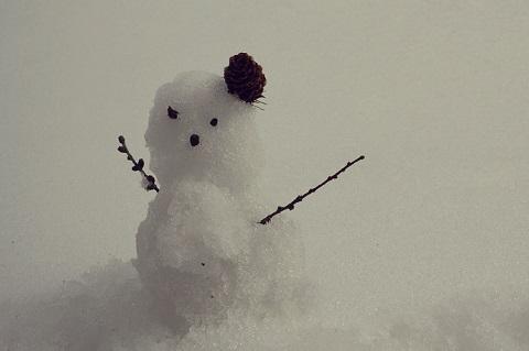 150219 雪だるま