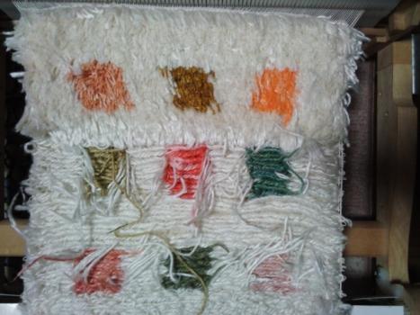 ノット織り課題