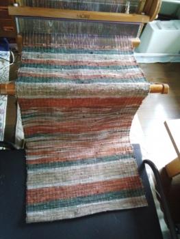 1.5のボロ織り