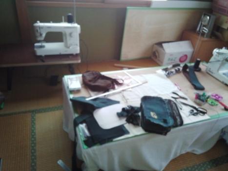 和室は縫い部屋