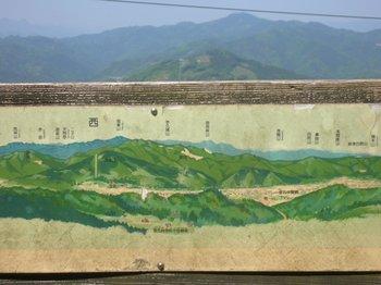 展望台からの山々