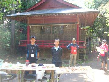 釜山神社エイド