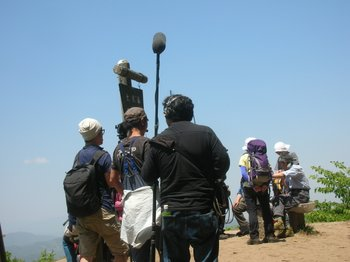 大霧山のカメラクルー