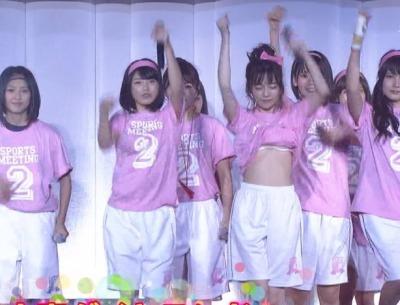 (※速報・放送事故※)AKB大運動会でぱるるがシャツを捲り上げて白ブラジャーを晒す →ガチだった件wwwwwwwwwwwwww(ムービーあり)