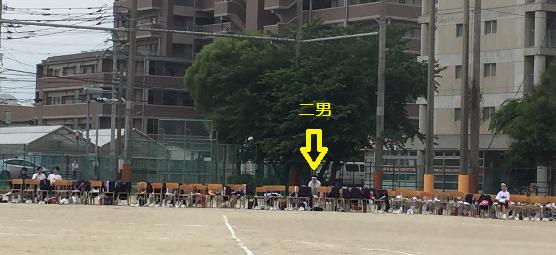 2015 体育会 ぽつ~ん