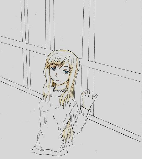 窓際の少女 今日ものんびりと 2015/02/22