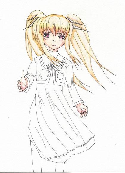 フェイト・テスタロッサ(A's) 桜 今日ものんびりと 2015/03/12