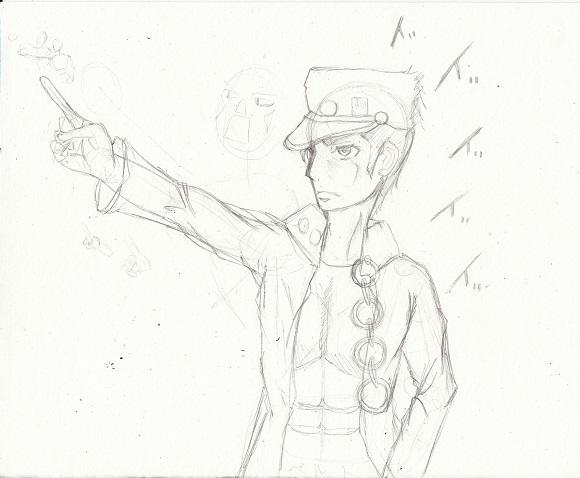 ジョジョの奇妙な冒険 空条承太郎 今日ものんびりと 2015/04/26