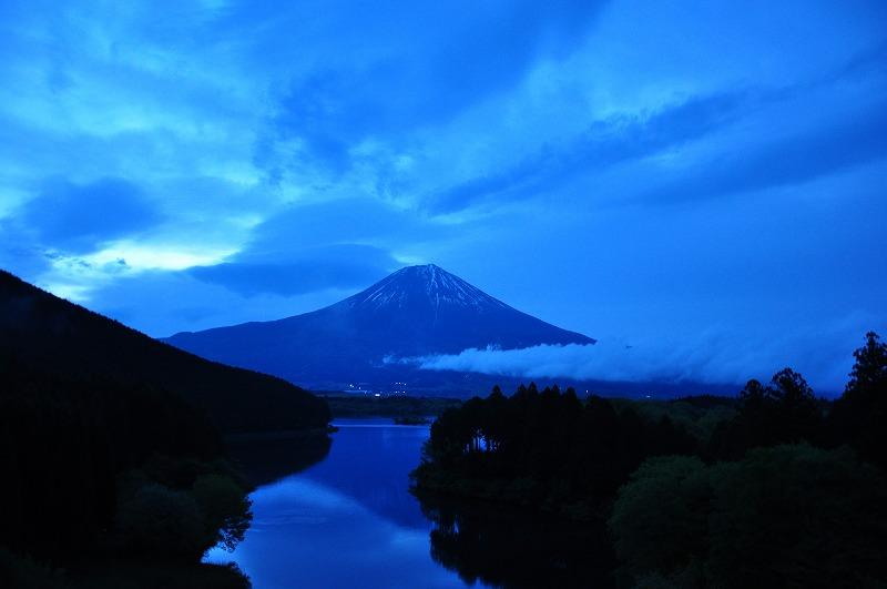 s-田貫湖の夜明け