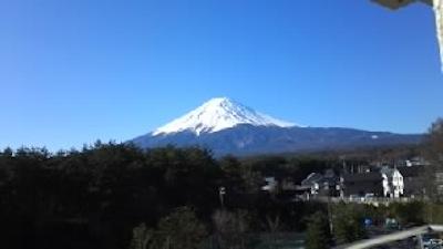 201503:24河口湖富士山