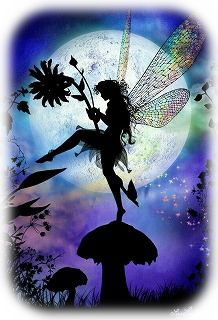 きのこと妖精
