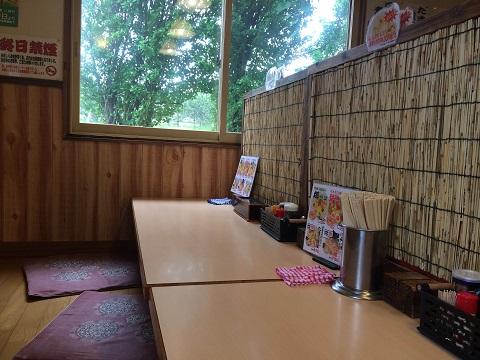 麺四郎カウンター