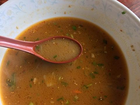 タンタン麺スープ
