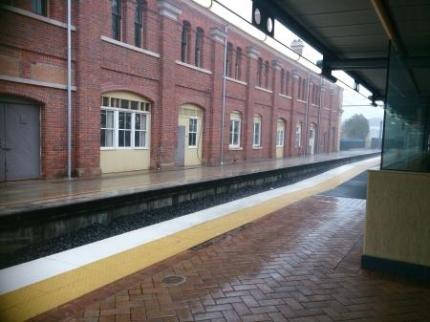 ローマストリートの駅