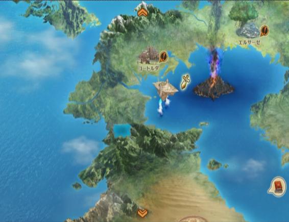 ドラゴンクエストヒーローズ ワールドマップ