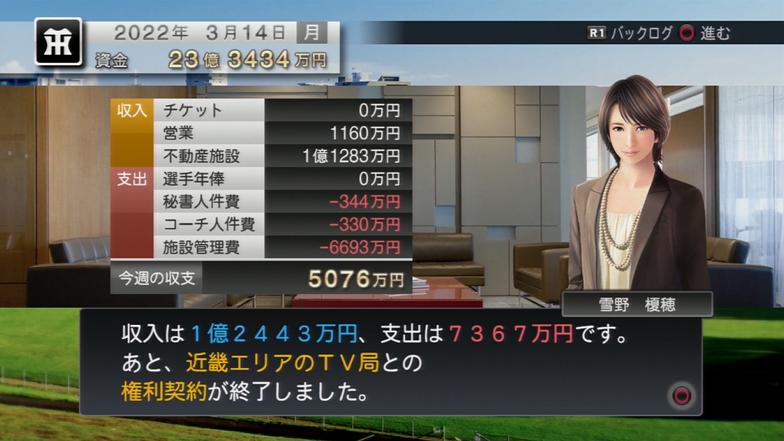 プロ野球スピリッツ2015 試合が無くても5000万円超え