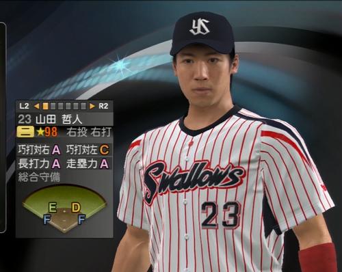 山田哲人 プロ野球スピリッツ2015