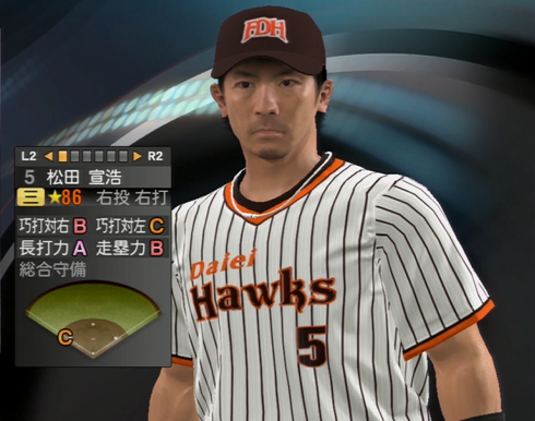 松田宣浩 プロ野球スピリッツ2015