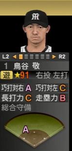 プロ野球スピリッツ2015 鳥谷敬