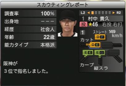 プロ野球スピリッツ2015 竹中貴久