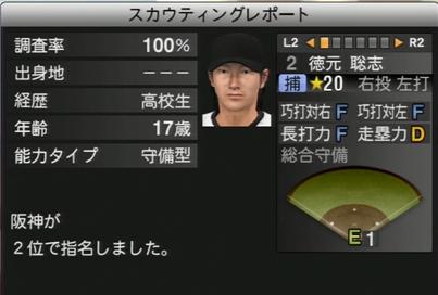 プロ野球スピリッツ2015 徳元聡志