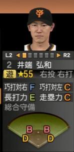 プロ野球スピリッツ2015 井端弘和