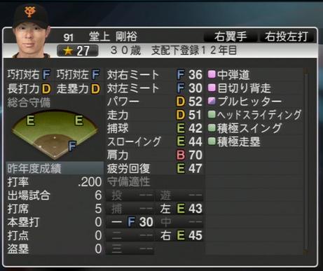プロ野球スピリッツ2015 2015年 須永英輝