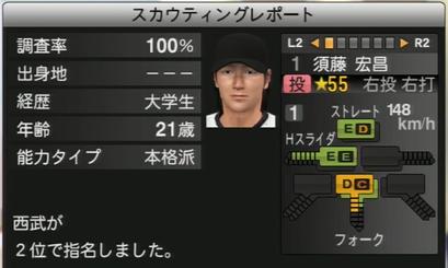 プロ野球スピリッツ2015 須藤宏昌
