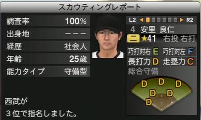プロ野球スピリッツ2015 安里良仁