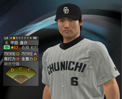 平田良介 プロ野球スピリッツ2015