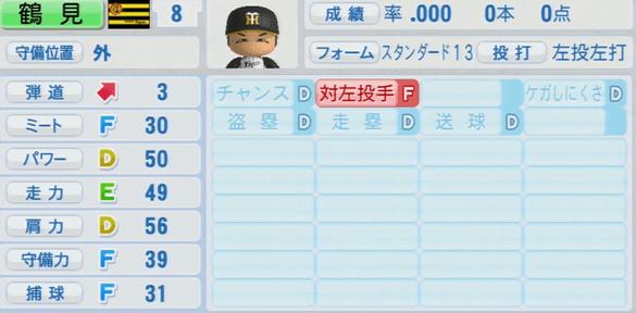 鶴見裕基 実況パワフルプロ野球2014