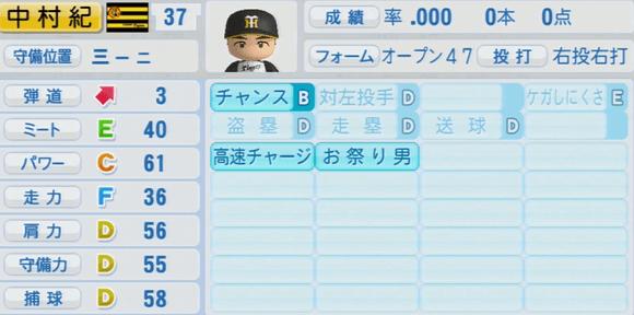 中村紀洋 実況パワフルプロ野球2014