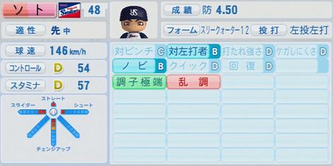 ソト 実況パワフルプロ野球2014