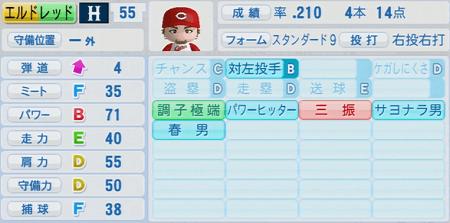 エルドレッド 実況パワフルプロ野球2014