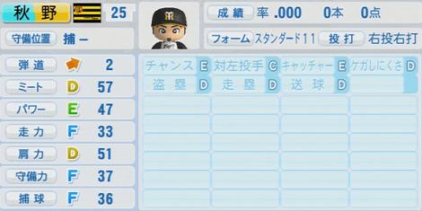 秋野和成 実況パワフルプロ野球2014