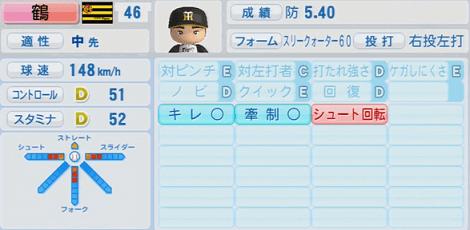 鶴直人 30歳 実況パワフルプロ野球2014