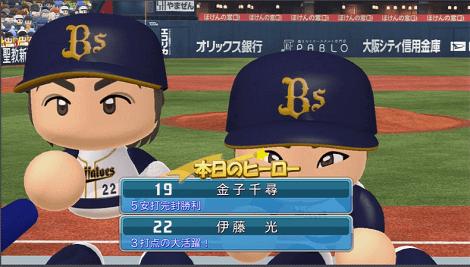エース金子から1点も取れず 実況パワフルプロ野球2014