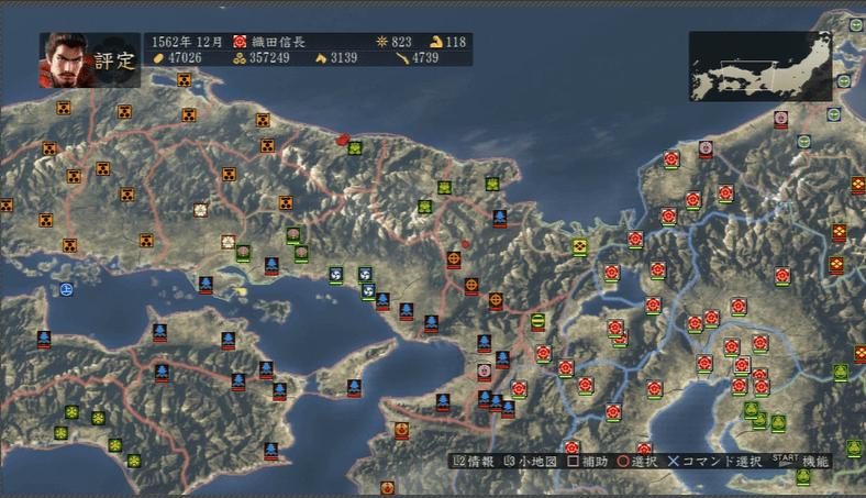 信長の野望・創造 with パワーアップキット 再度二条城攻略を検討