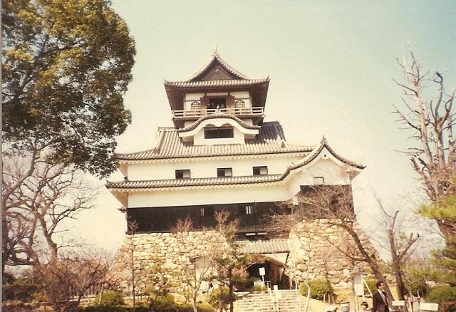 犬山城1975.4.4B